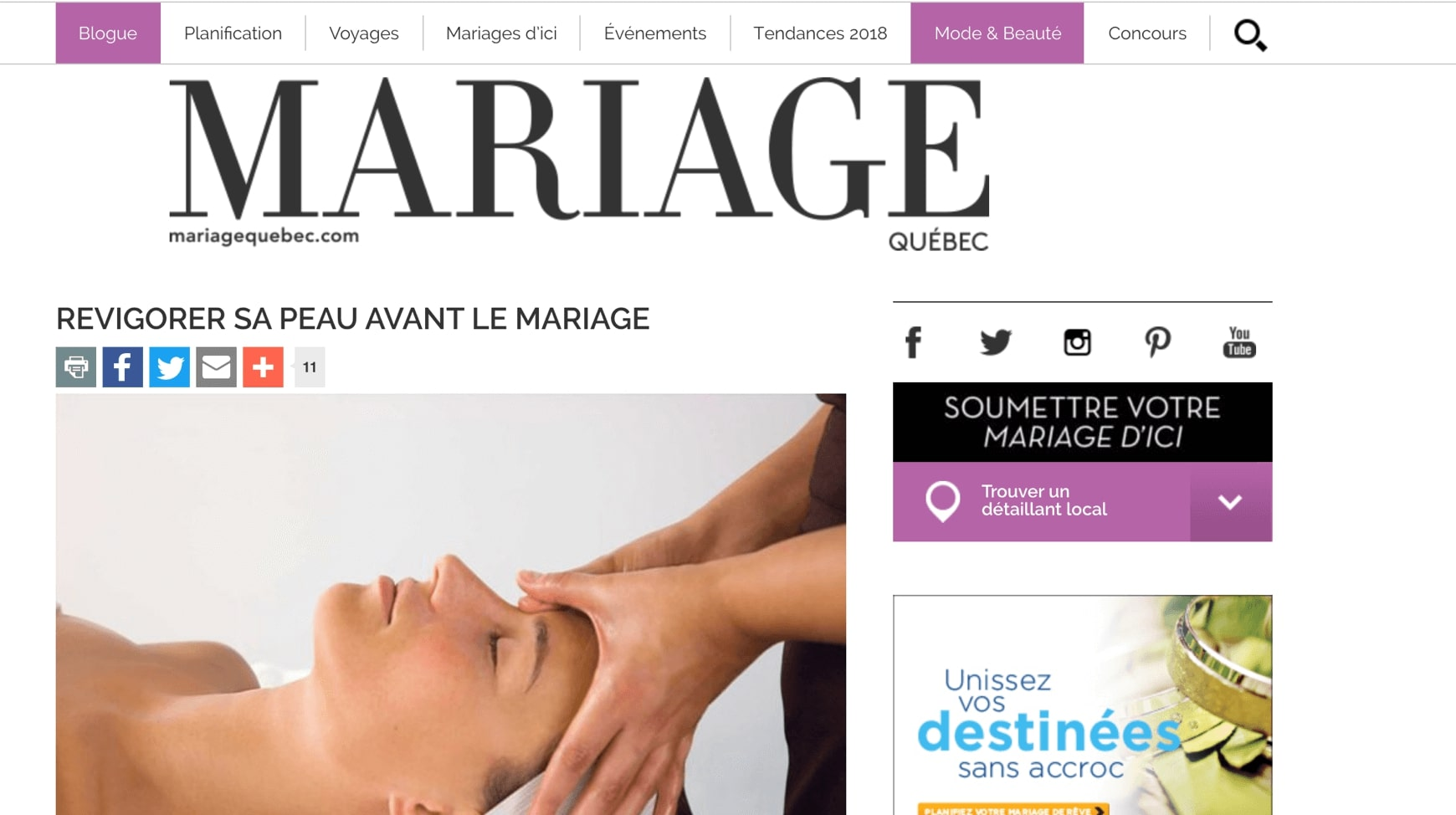 2e2311c3e Dr. Chloe Sylvestre talks aesthetic products in Mariage Quebec