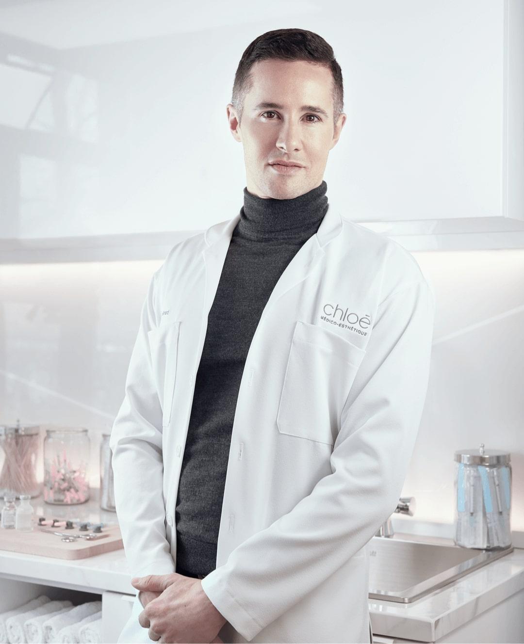Dr Partick Simard, médecin esthétique à Montréal chez Clinique Chloé médico esthétique