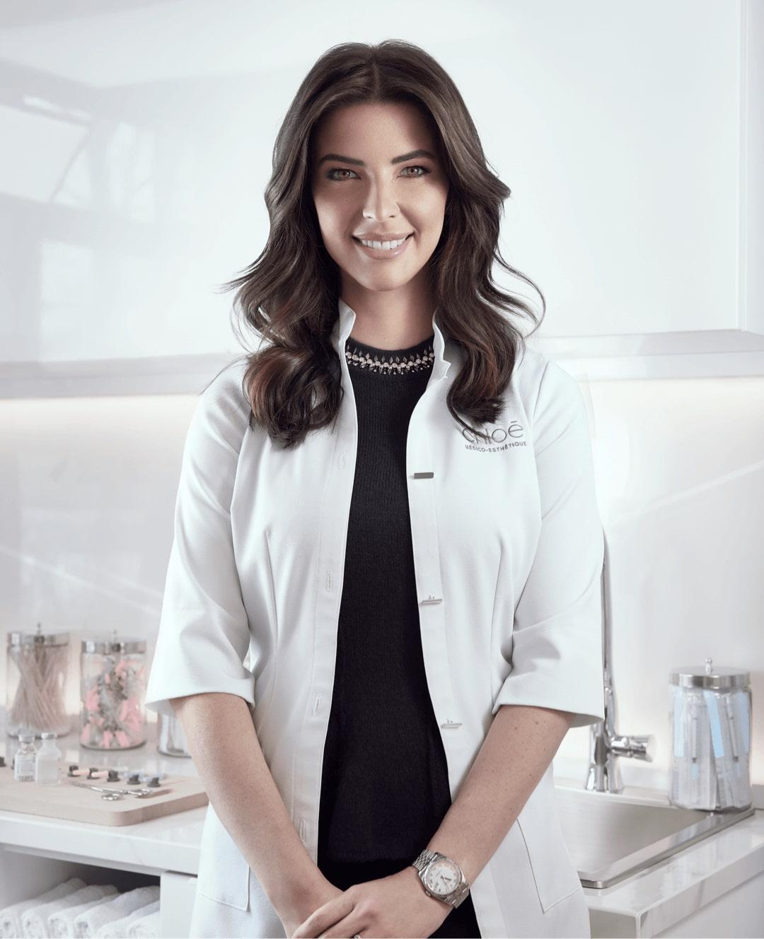 Dre Chloé Sylvestre, médecin esthétique à Montréal chez Clinique Chloé médico esthétique