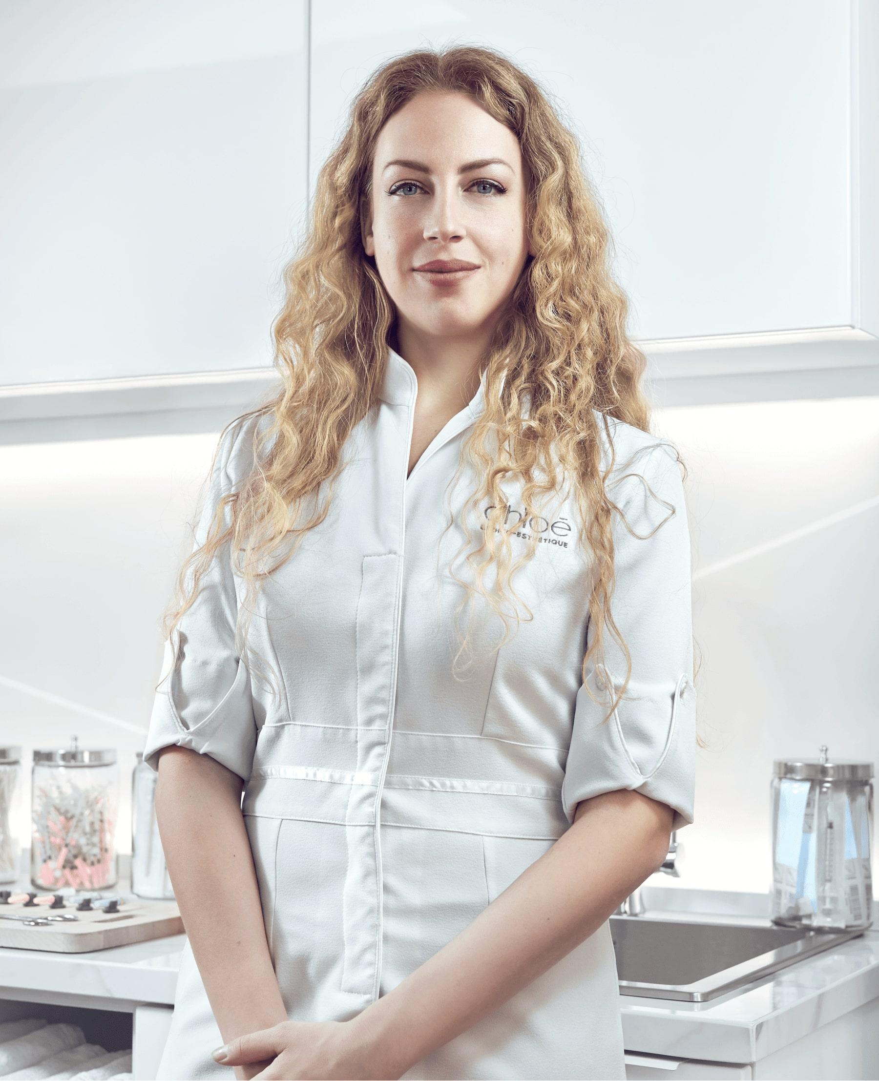 Sarah Bouchard, infirmière esthétique à Montréal chez Clinique Chloé médico esthétique