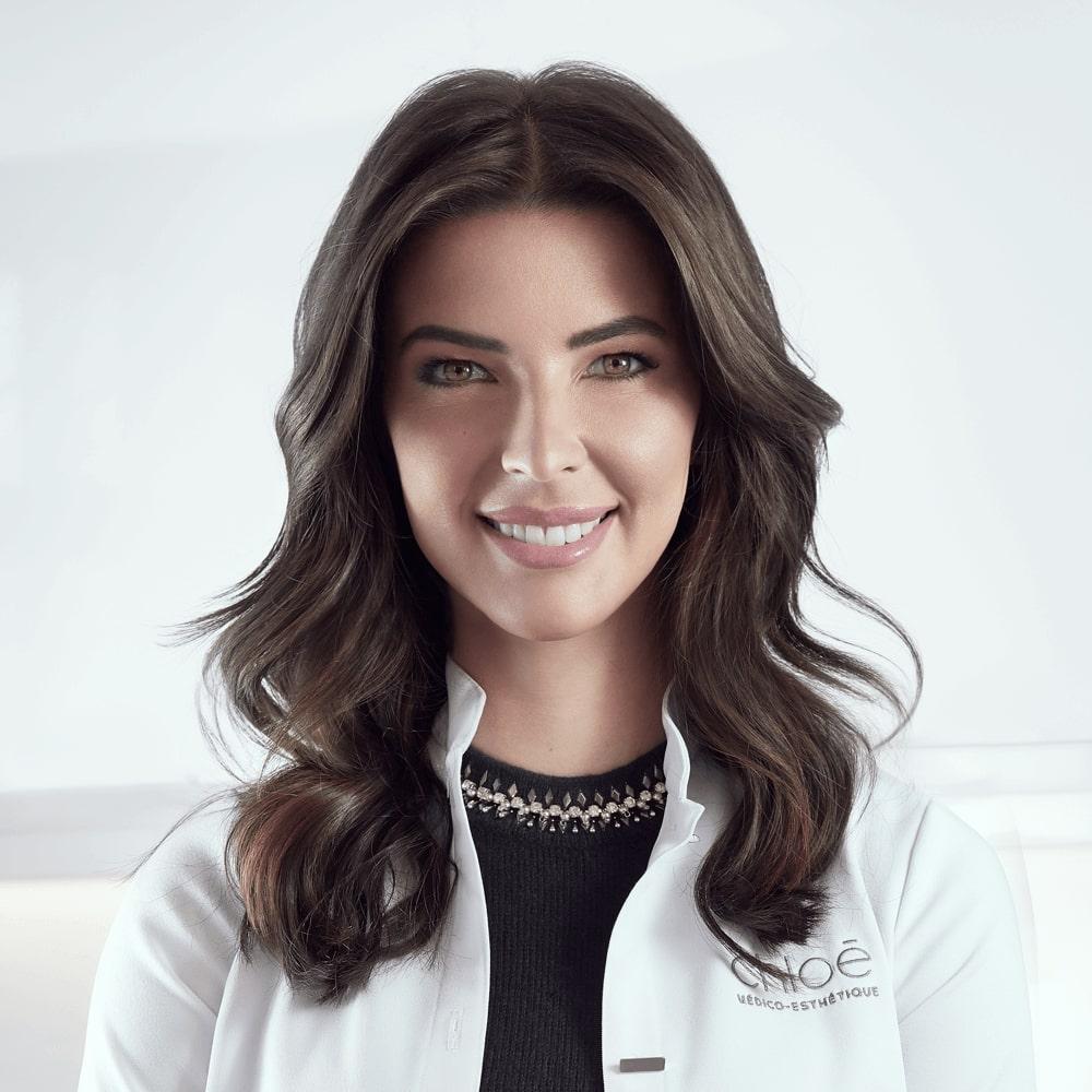 Dre Chloé Sylvestre, médecin esthétique à la Clinique Chloé médico esthétique