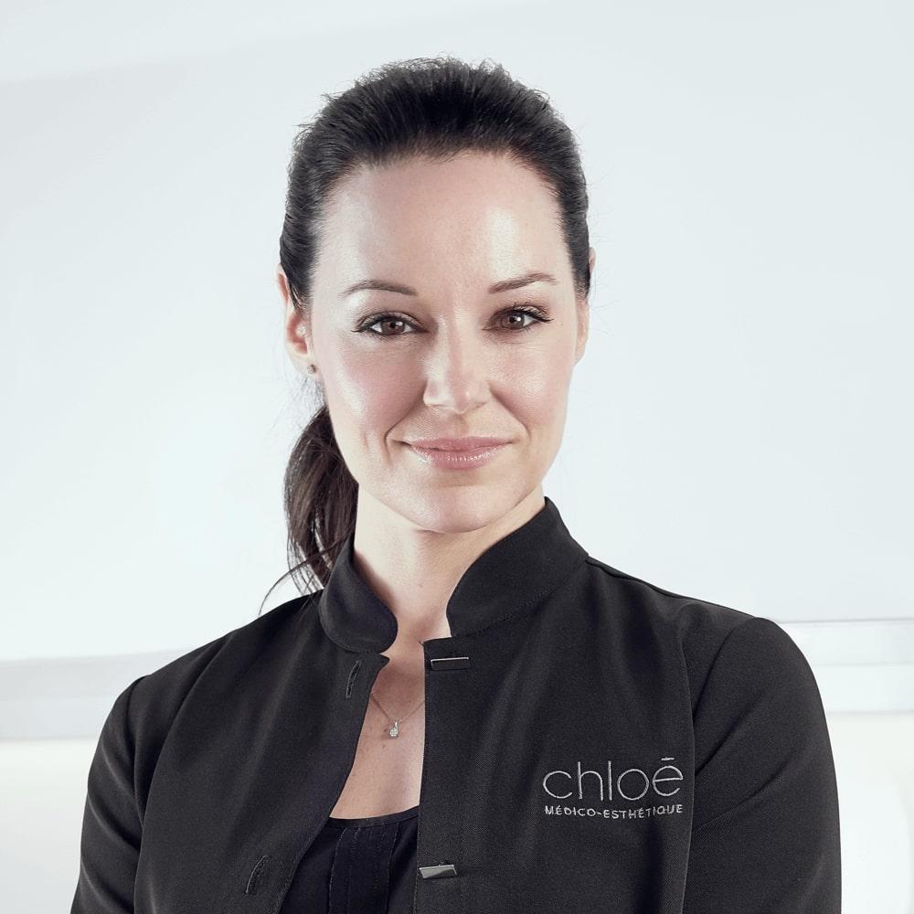 Guylaine Lavoie, service à la clientèle à la Clinique Chloé médico esthétique