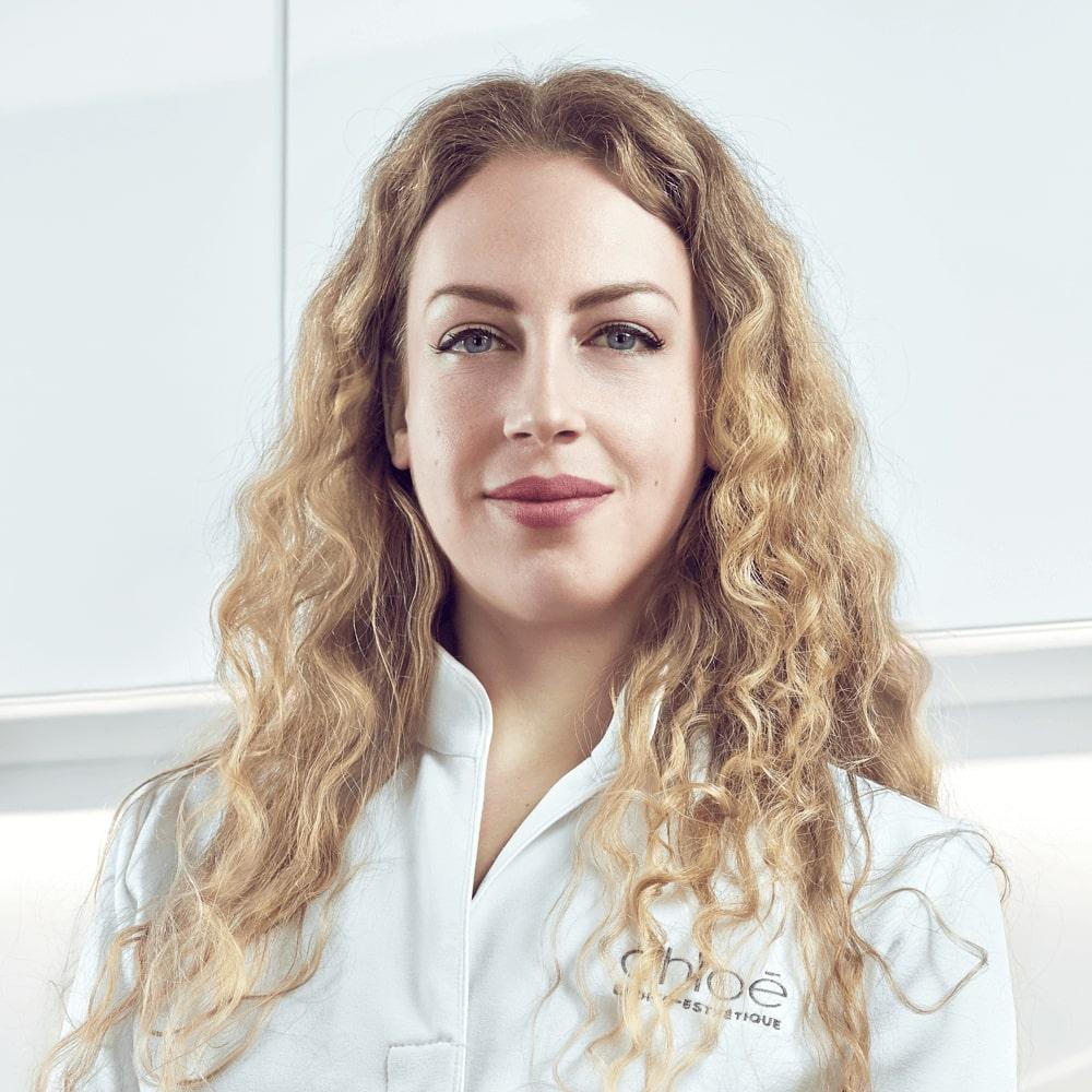 Sarah Bouchard, infirmière esthétique à la Clinique Chloé médico esthétique