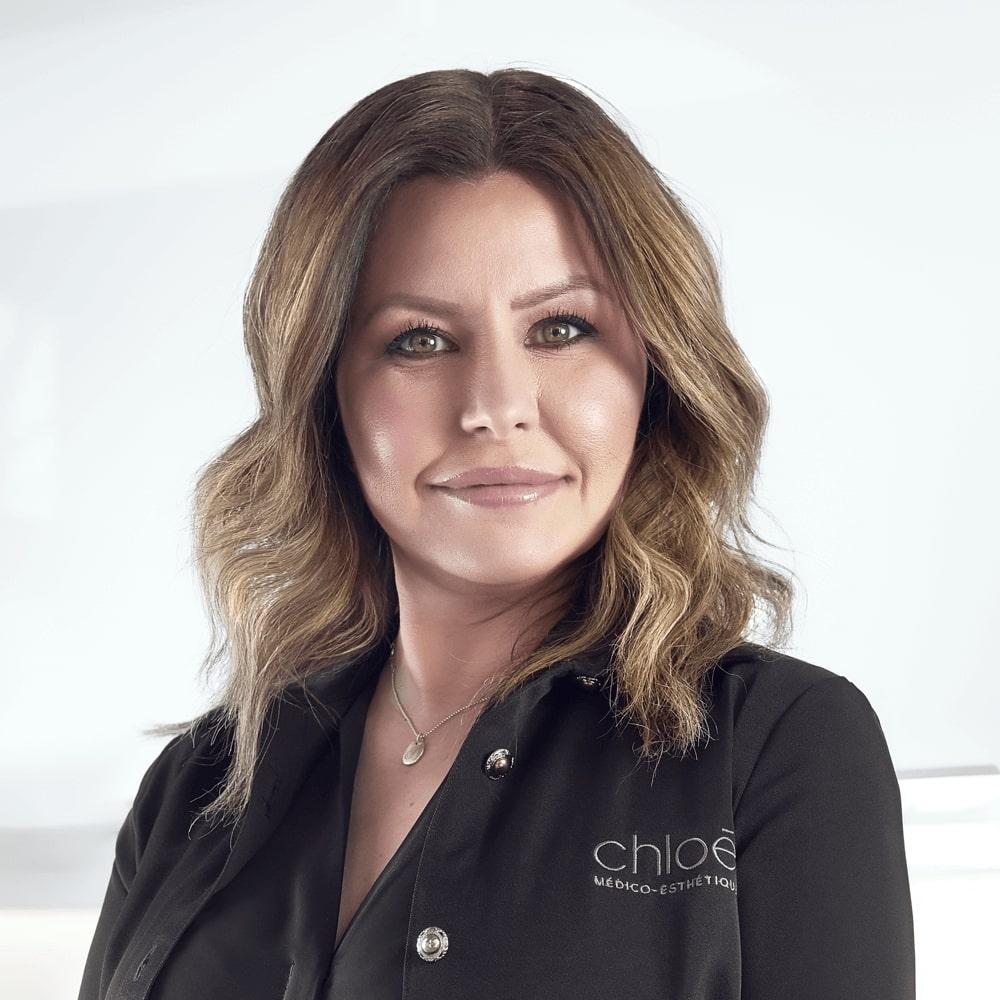 Silvi Imbeault, service à la clientèle à la Clinique Chloé médico esthétique